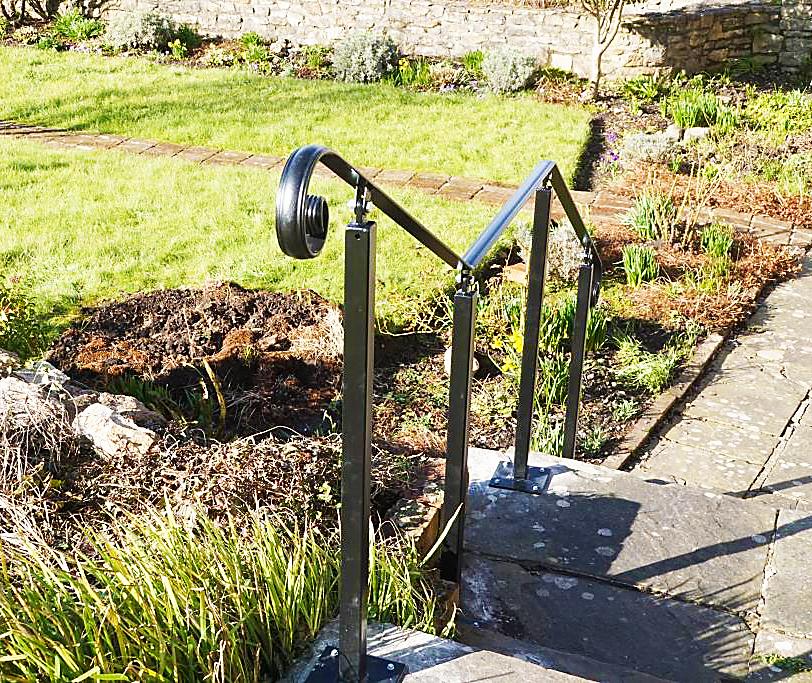 Wrought Iron Handrails | Metal Handrails