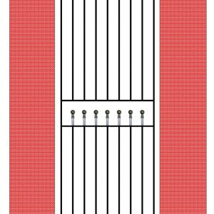 Regent Single Gate (Tall)